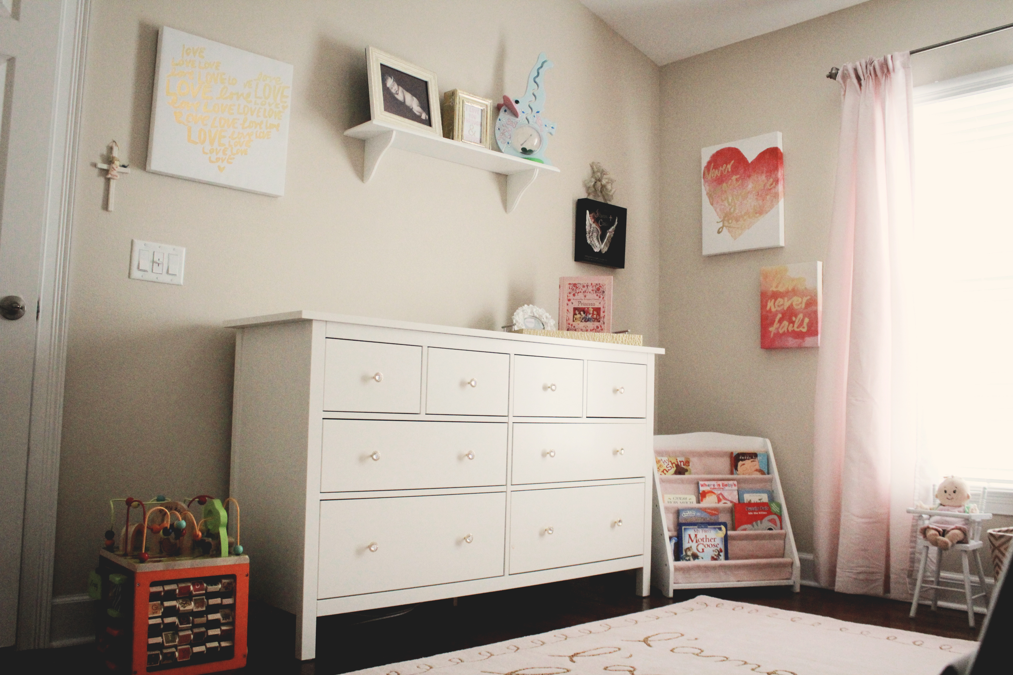 Montessori Girl Room