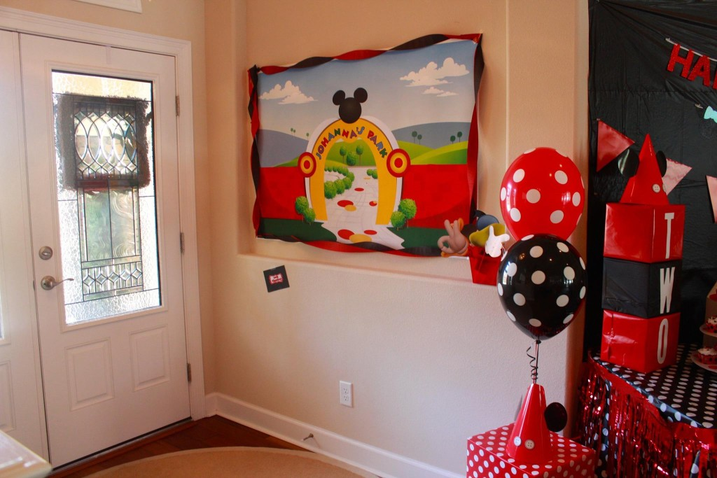 A Photo Booth for guests. This was also a great way to capture pictures of friends who came to her party!