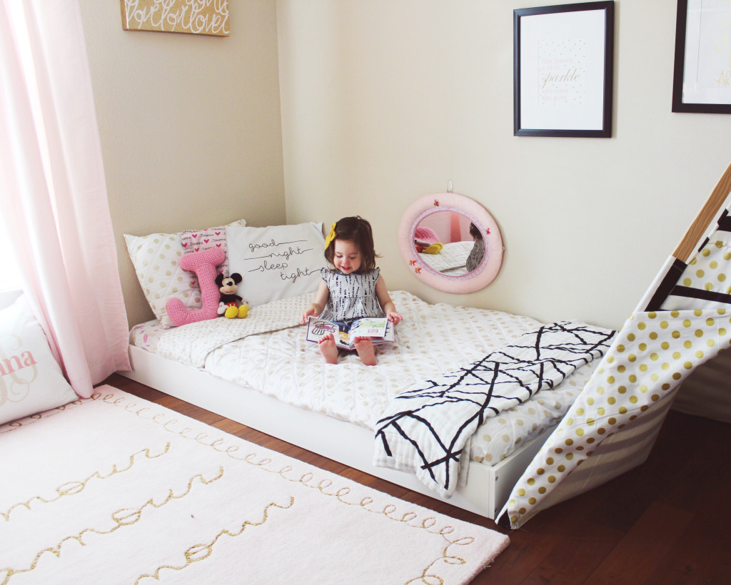Toddler Room | Toddler Floor Bed | Oh Happy Play