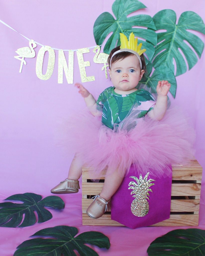 Florida motherhood blogger, Oh Happy Play, shares how to create the perfect Copacabana Birthday Party for her daughter Lola's 1st Birthday!