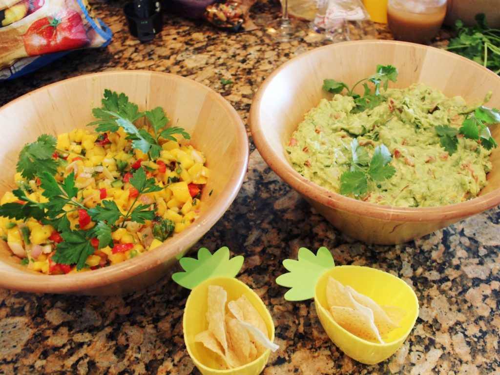 Mango Salsa & Guacamole | Copacabana Birthday Party