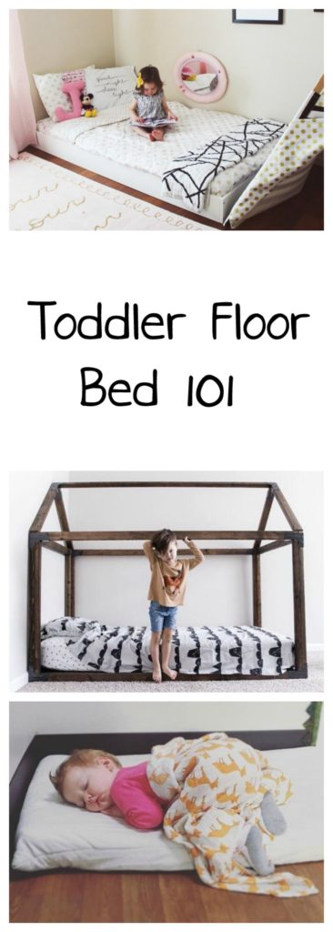 Toddler Floor Bed 101 | Oh Happy Play