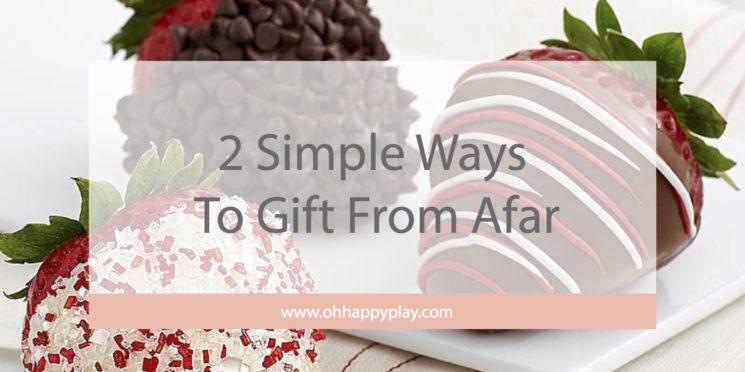 gifting from afar, groupon coupons