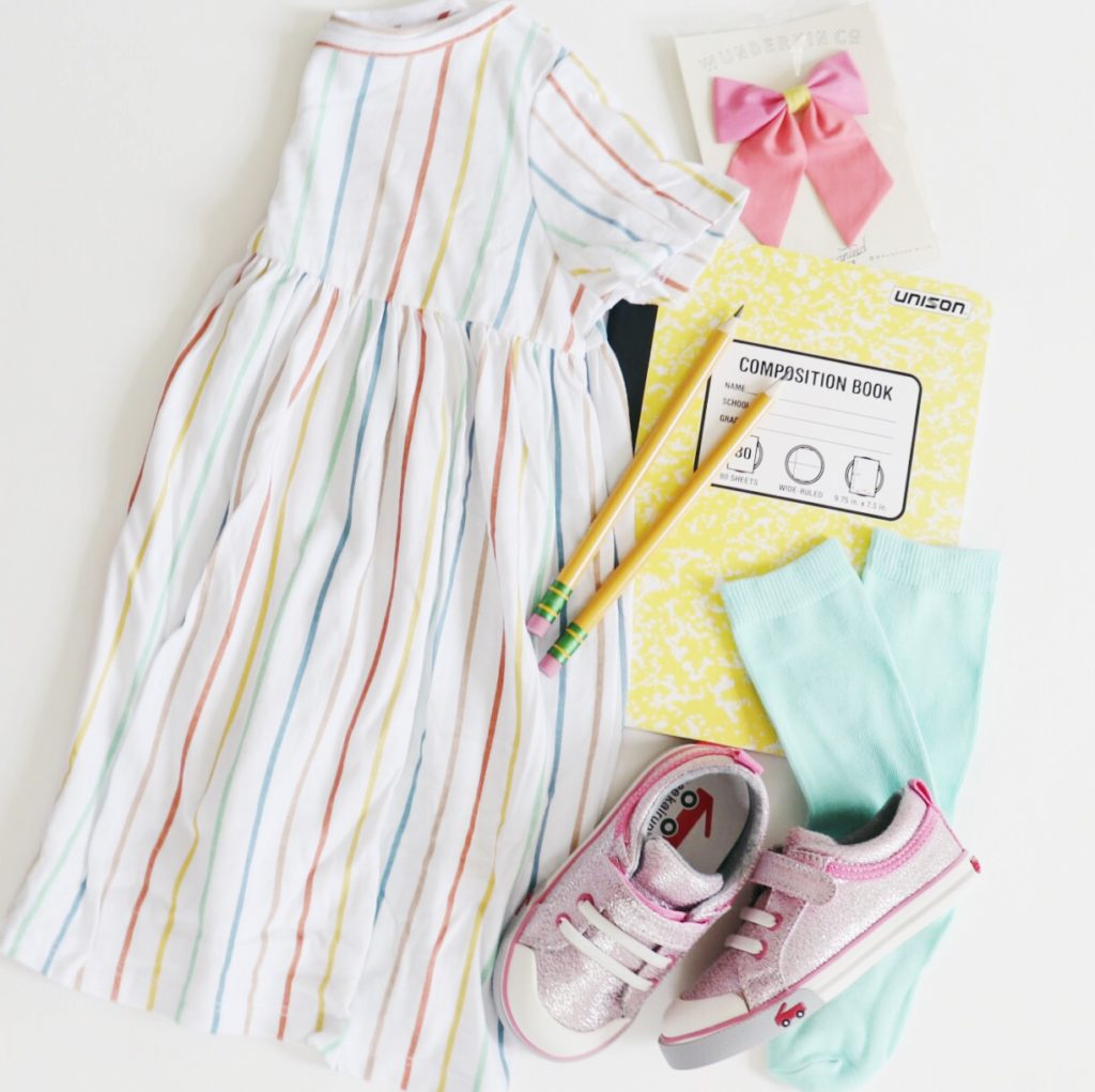Have a little girl heading off to preschool? Check out these back to school essentials from Florida Motherhood blogger, Oh Happy Play!