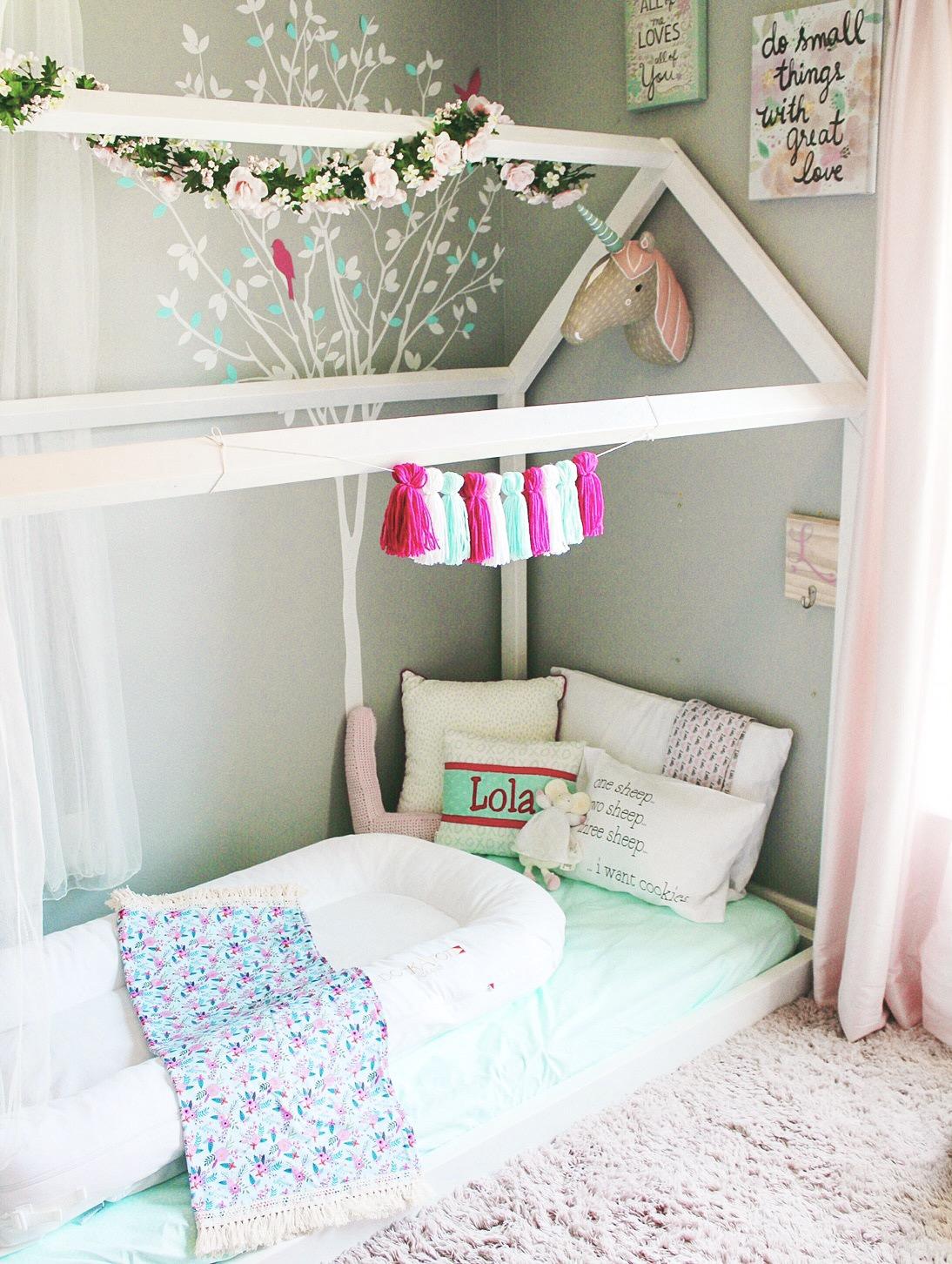 Toddler Room Floor Bed