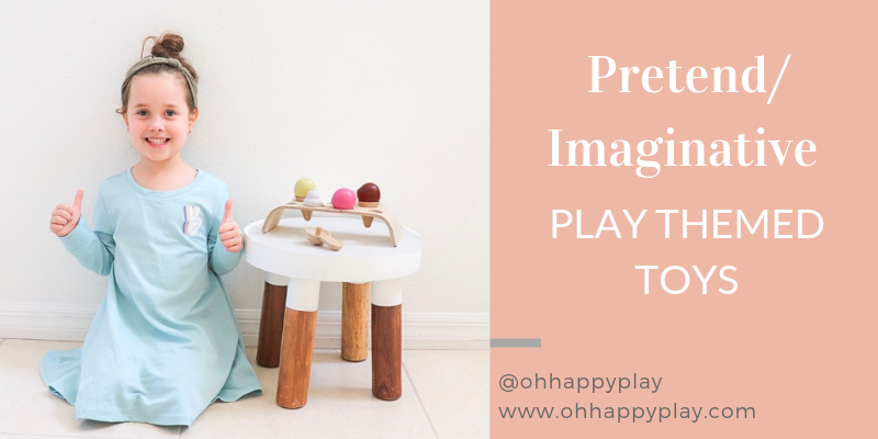 imaginative play, pretend play, open ended toys