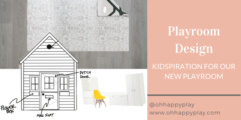 playroom design, playroom inspiration for kids, toy organization, under the stairs playhouse, custom build home, modern playroom design, play mat, monochrome design, monochrome town mat for cars, toy organization, Ikea hack, Ikea playroom