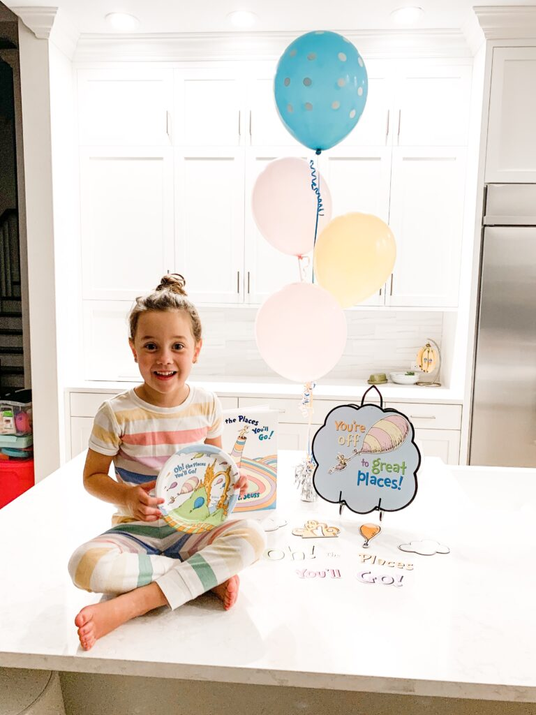 oh the places you'll go, first day of kindergarten, kindergarten backpack, kindergarten lunchbox, back to school, the night before kindergarten, school lunchbox ideas