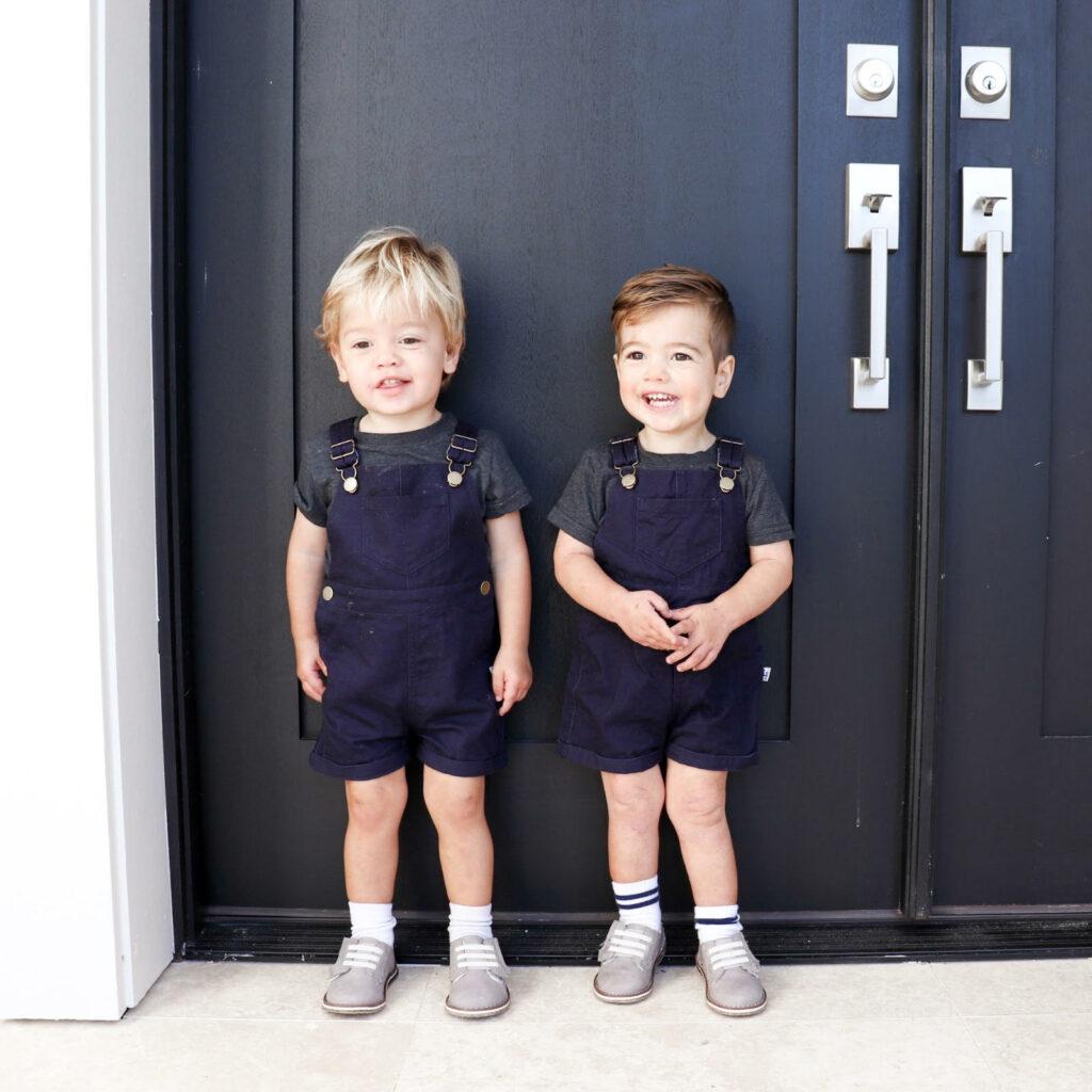 twin boys, fraternal twin boys, boys fashion
