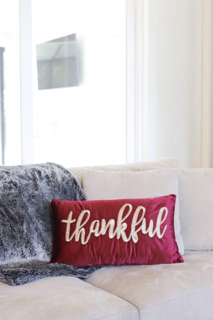 fall throw pillow, home goods fall haul