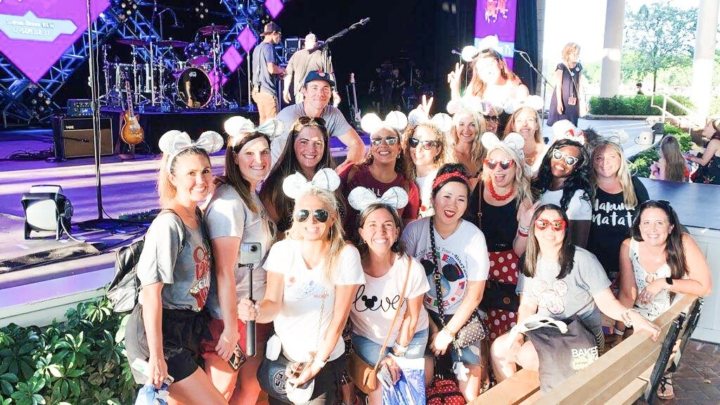 eat to the beat, Epcot food & wine festival, plain white tees, permission to hustle conference, WDW Fall Fam, Disney social media moms