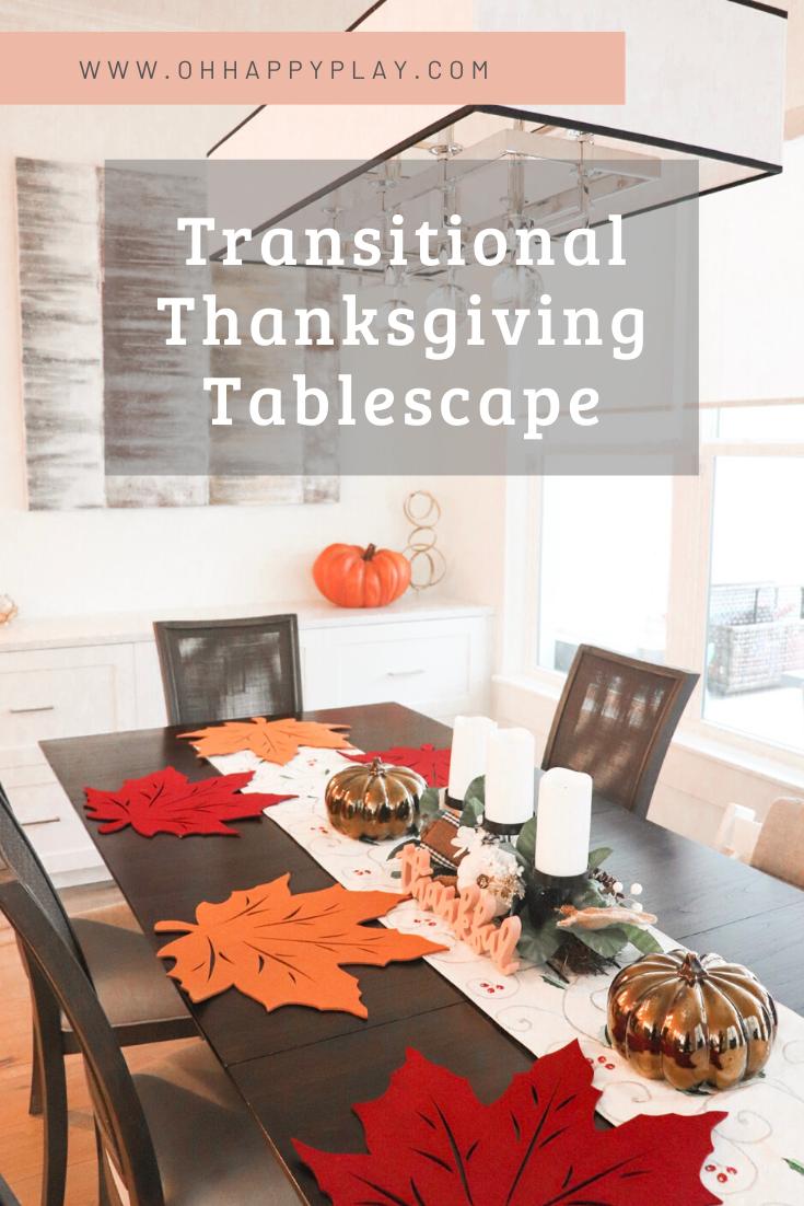 transitional thanksgiving, Friendsgiving decor