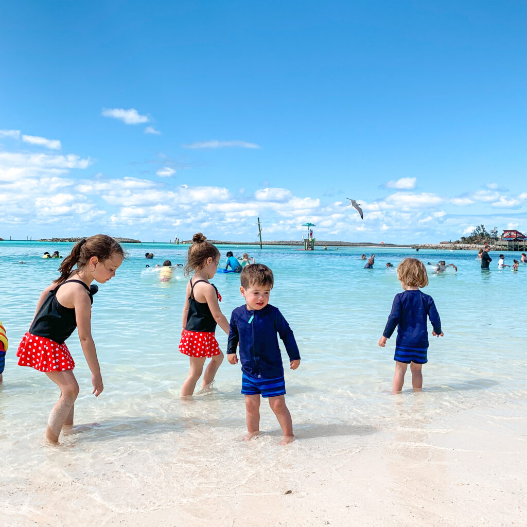 castaway cay, disney cruise ship, Disney Dream, disney cruise with young kids