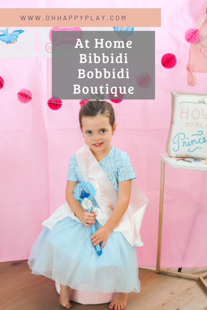 at home bibbidi bobbidi boutique, bibbidi bobbidi boutique, at home Disney day, disney day youtube, instagram trend, disney day, princess makeover , princess theme birthday party, princess party