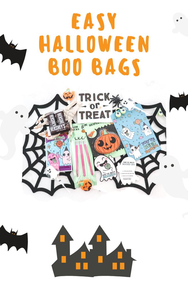 halloween boo bags, Halloween boo bag ideas, what is a boo bag, how to make a boo bag, boo bags treat ideas, halloween treat ideas, boo bag poem, boo bags ideas, boo bags printable, boo basket, you've been booed, halloween treat bags, halloween bags, booing halloween