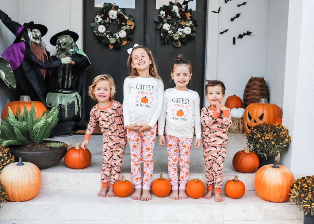 halloween with kids, halloween traditions, halloween boo bags