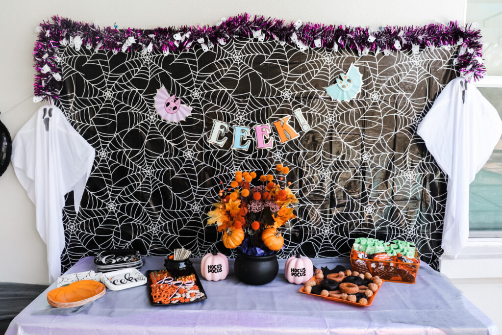witch party vibes, kid's halloween party, halloween birthday party for kids, witch party