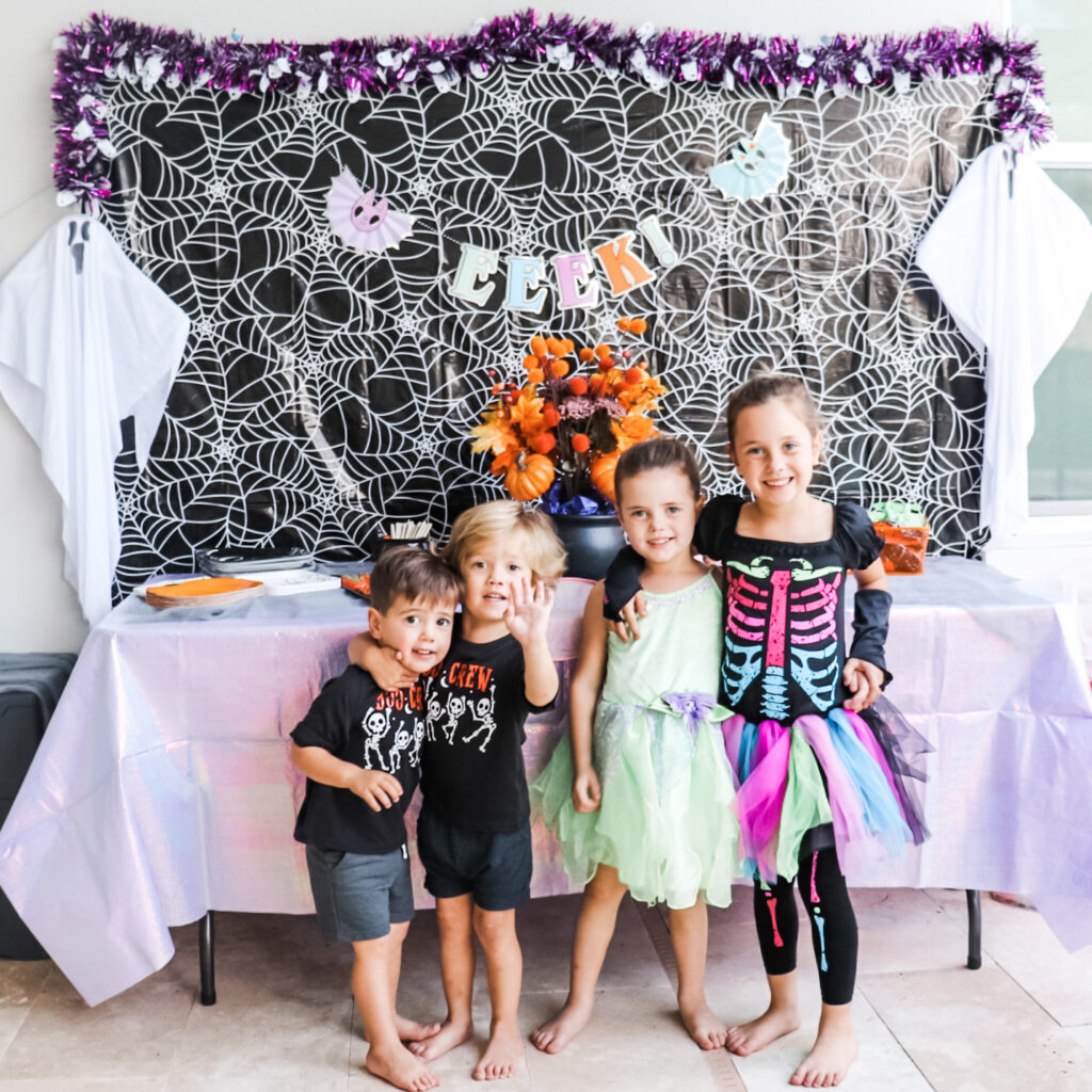 witch party vibes, halloween birthday party for kids