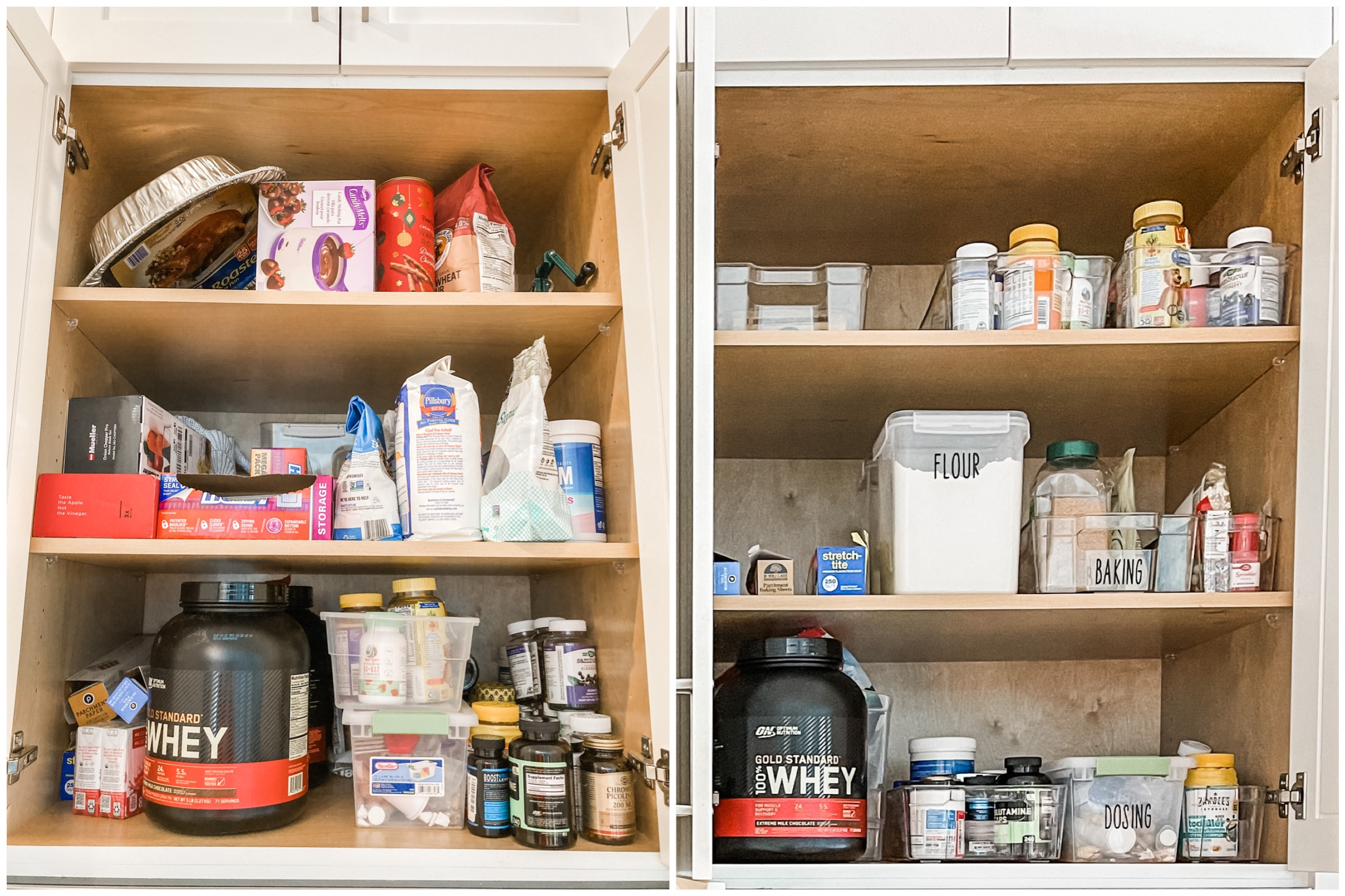 Pantry Organization In 4 Easy Steps With Expert Tampa Bay Organizer, Barbara Proia / You Organized, pantry organizer bins, pantry organization goals, pantry organization containers, pantry organizing ideas, pantry organization categories, pantry organization kid snacks
