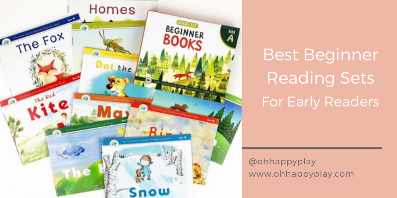 Best Beginner Reading Sets For Early Readers, beginner books for kindergarten , beginner reading sets