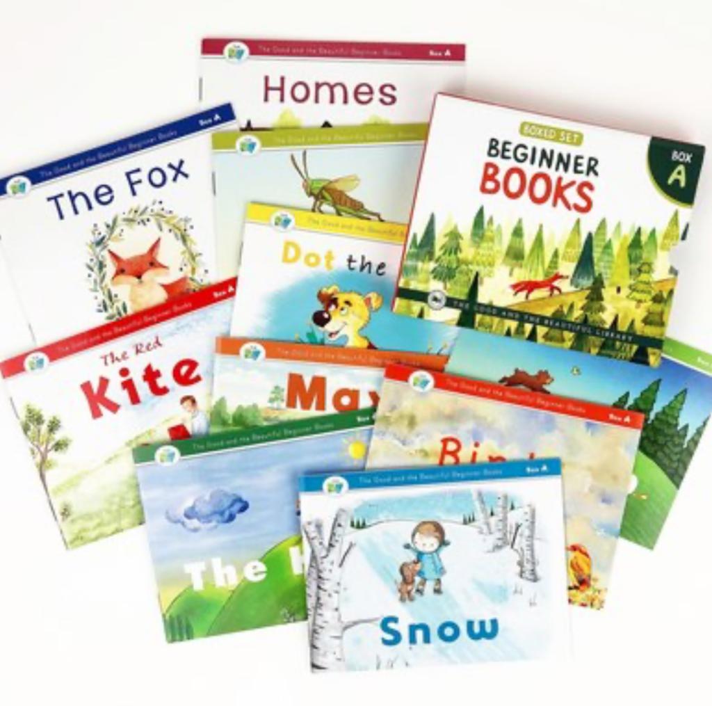 beginner books for kindergarten, Best Beginner Reading Sets For Early Readers