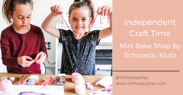 independent crafts for kids, crafts for kids, scholastic klutz