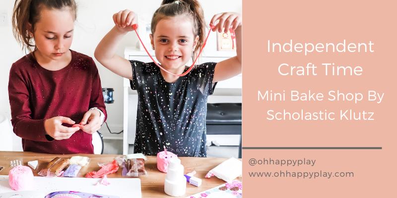 independent crafts for kids, crafts for kids, scholastic klutz