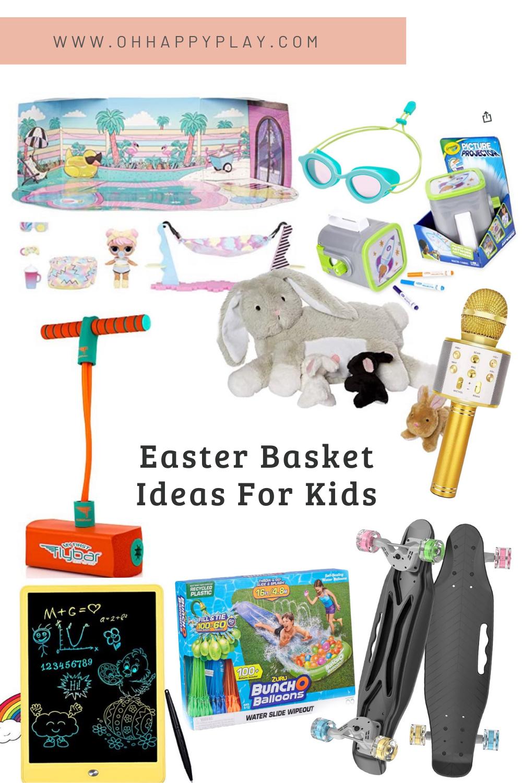 the h.o.p method, Easter Basket ideas, for girls, for boys, for toddlers, the HOP method, easter gift guide for kids